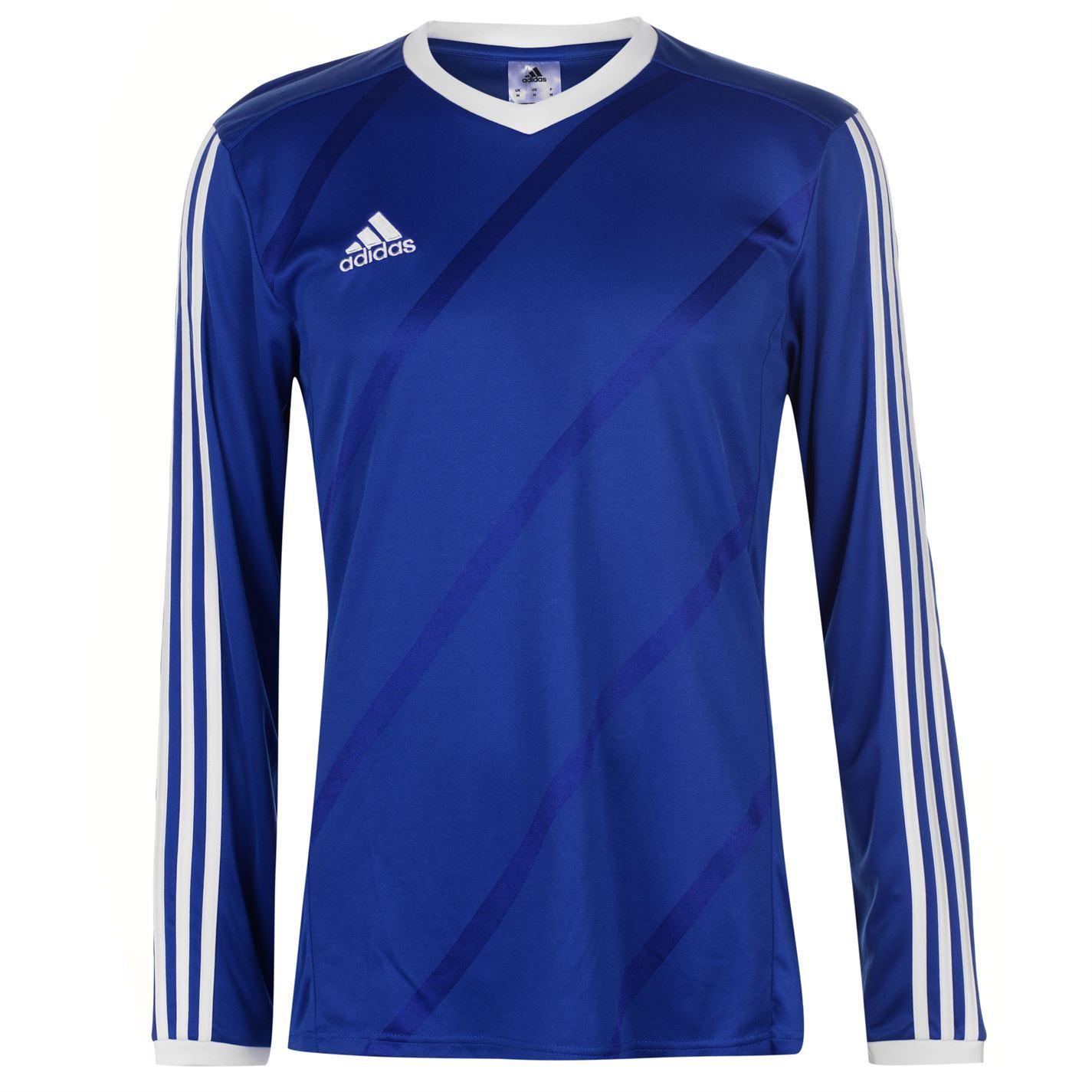 adidas Tabela 14 Long Sleeve Football Jersey Mens Soccer Shirt Top ...