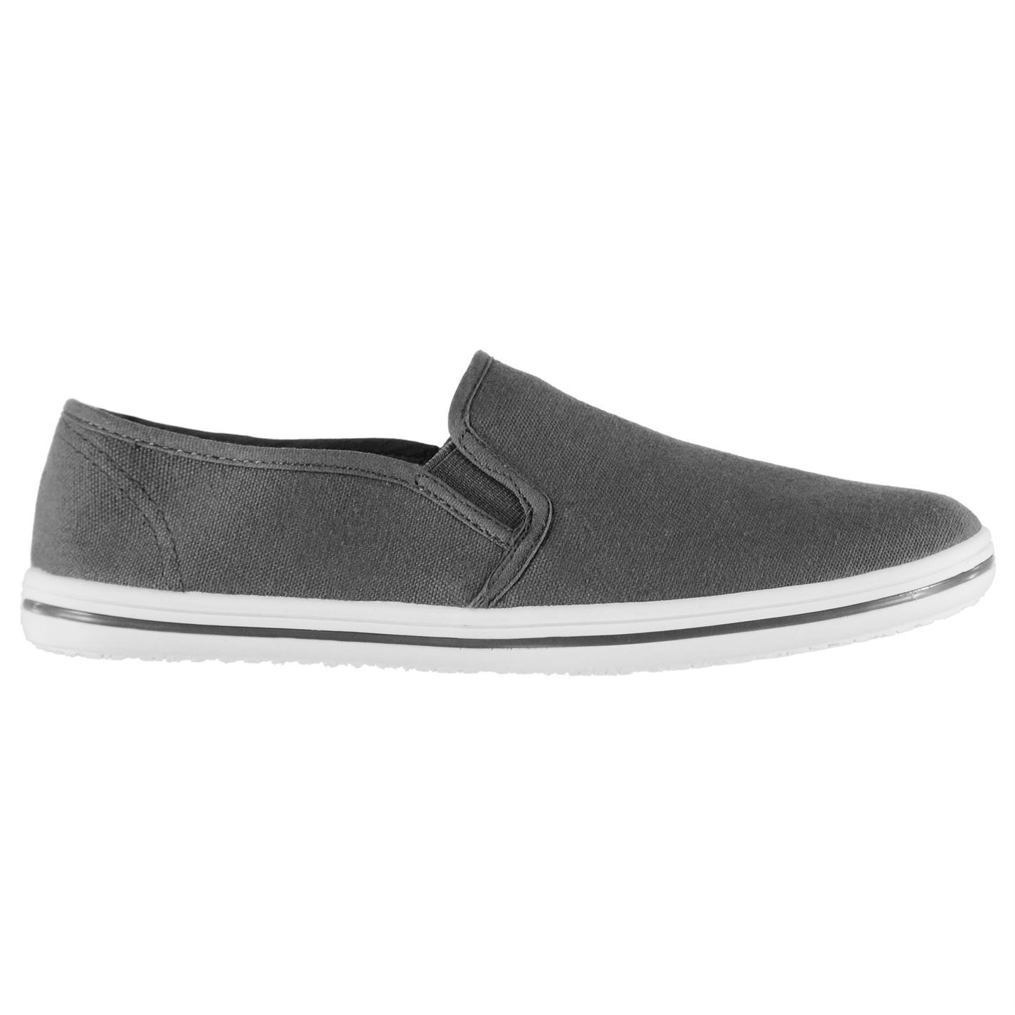 Slazenger Filles Toile à Enfiler Chaussures Baskets Chaussures