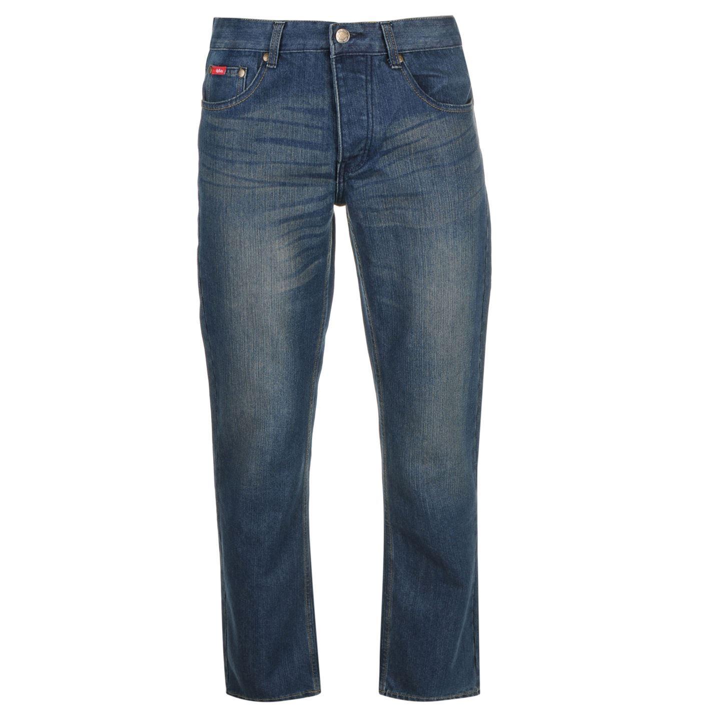 Jeans Denim Lee Cooper Regular Mens Trouser Pants