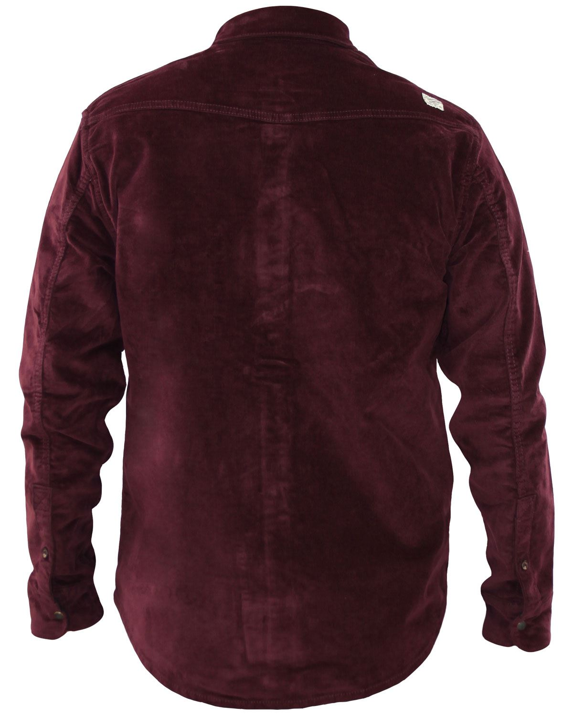 Mens Corduroy Casual Shirts Long Sleeve Cotton Shirt Jacksouth Jacket Top S-2XL