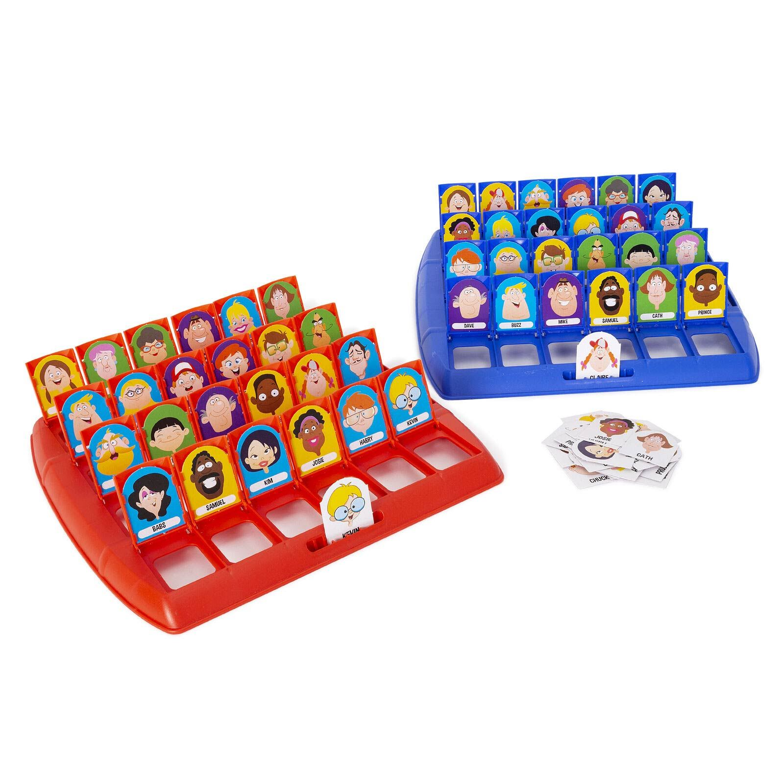 GUESS WHO WHATS THEIR NAME BOARD GAME TRADITIONAL CLASSIC KIDS FAMILY GIFT TOYS