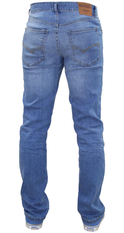 Da Uomo di marca LIFE /& Glory Brand Jeans Slim Fit Stretch Pantaloni Denim pulsante