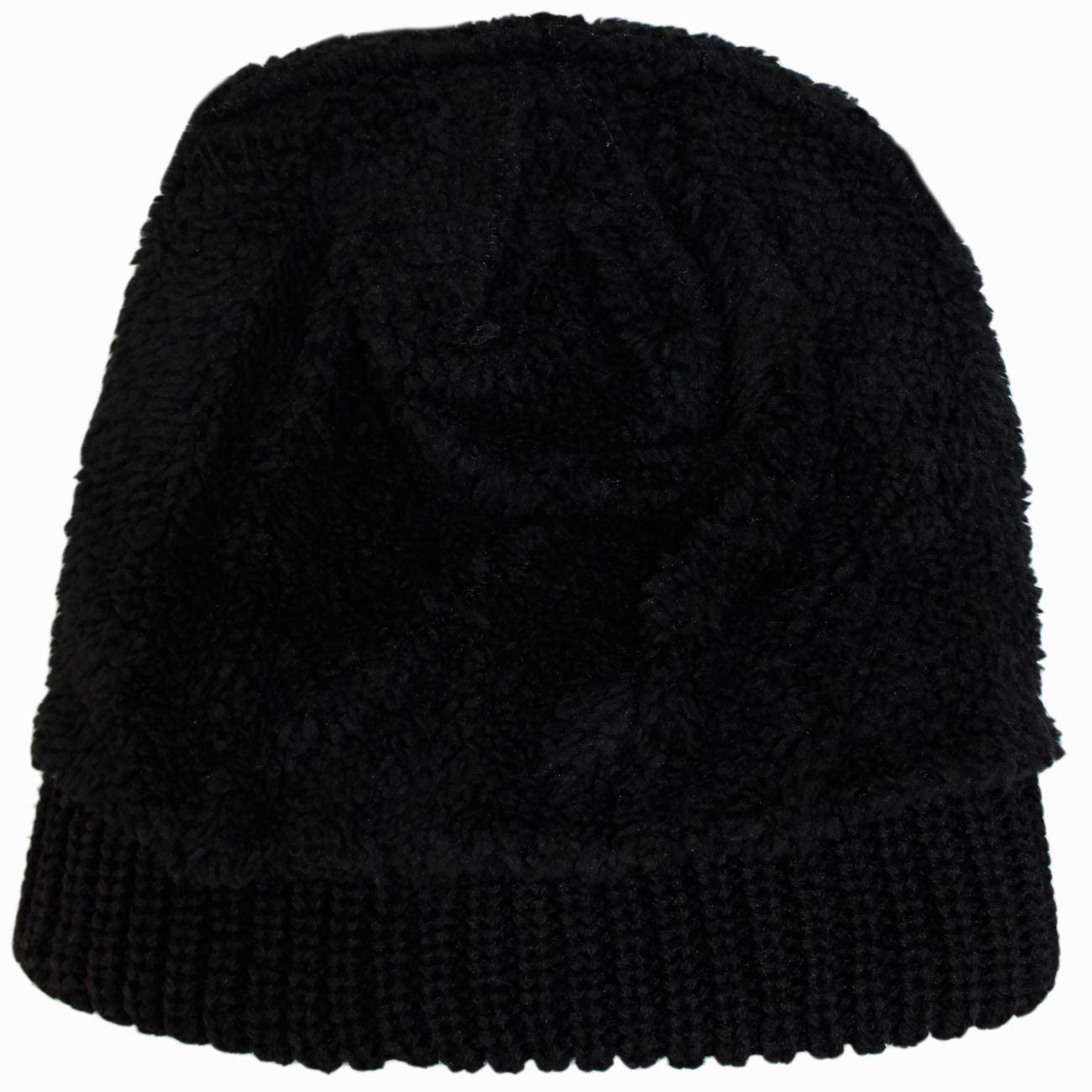 Mens Heavy 4.7 Tog Cap Thermal Brush Fleece Lined Ultimate Heat Winter Hat