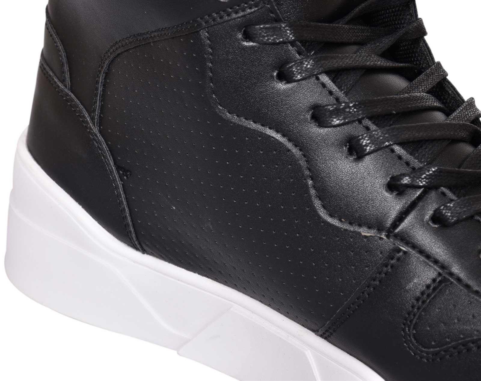 Zapatillas Para Hombre Crosshatch Arialva Botas al Tobillo Con Cordones Hi Tops Zapatos Acolchado