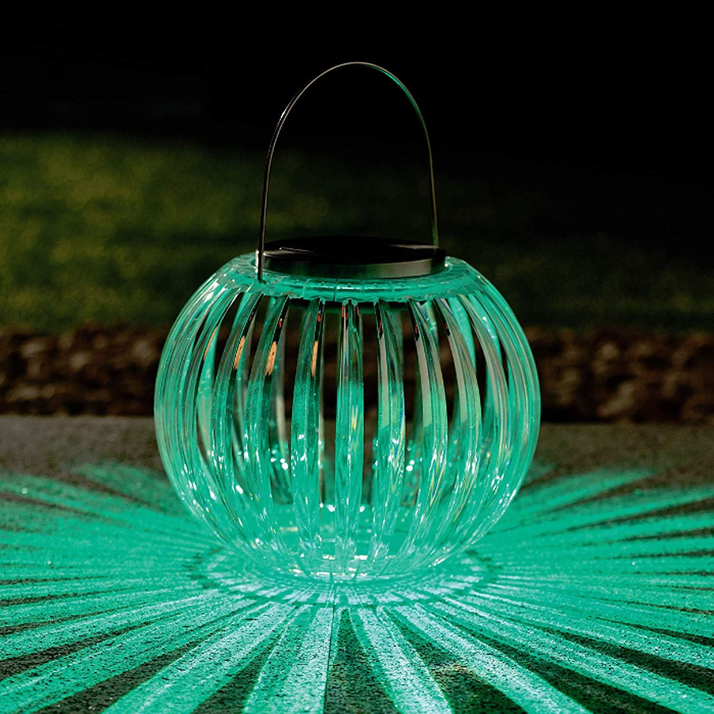 Solar LED Lights Dancing Amber Flame Flickering Color Changing Garden Lights