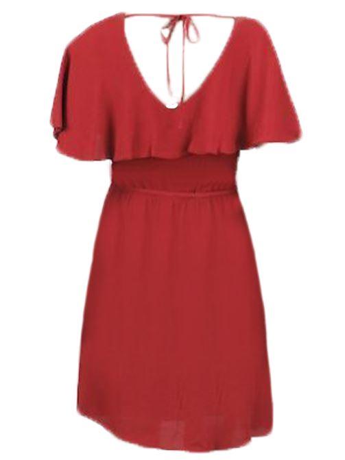 NEW Ladies High Street Women Cape Sleeve Summer Tea Dress Size 6-18