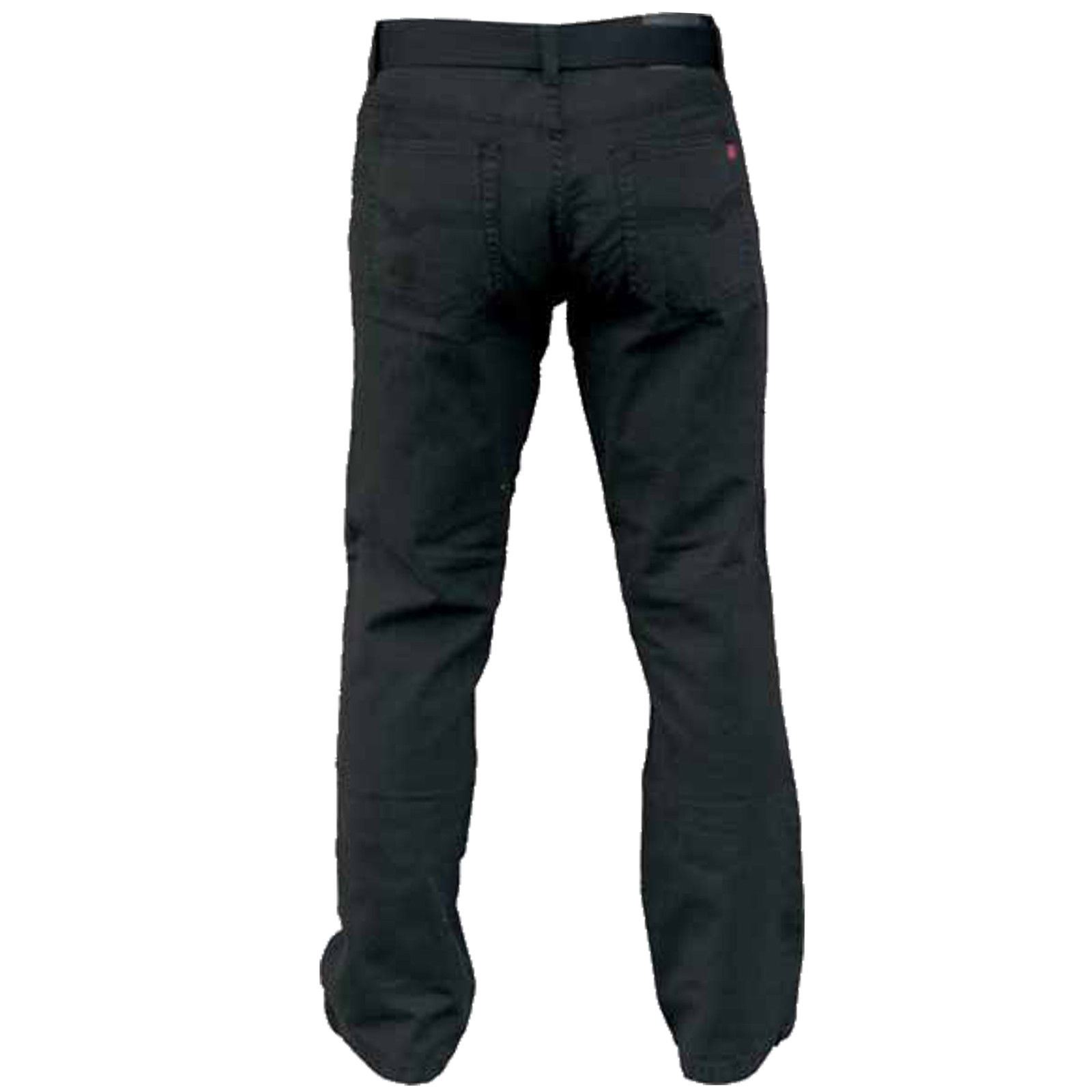 "50/"" Gratuit Ceinture Homme Duke Long Tall XL Jambe 38/"" Taille Cordon Noir Jeans Taille 32/"""