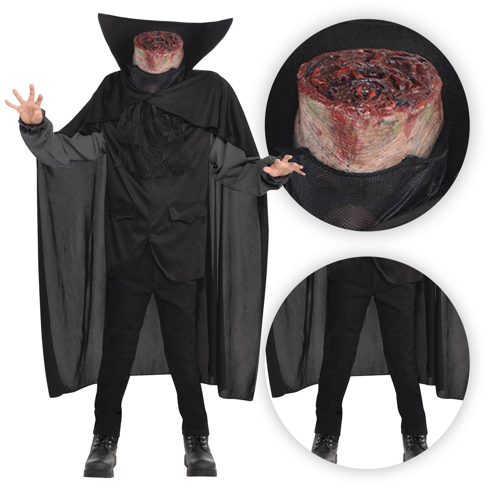 Mens Headless Horseman Beheaded Bloody Axe Halloween Horror Fancy Dress Costume