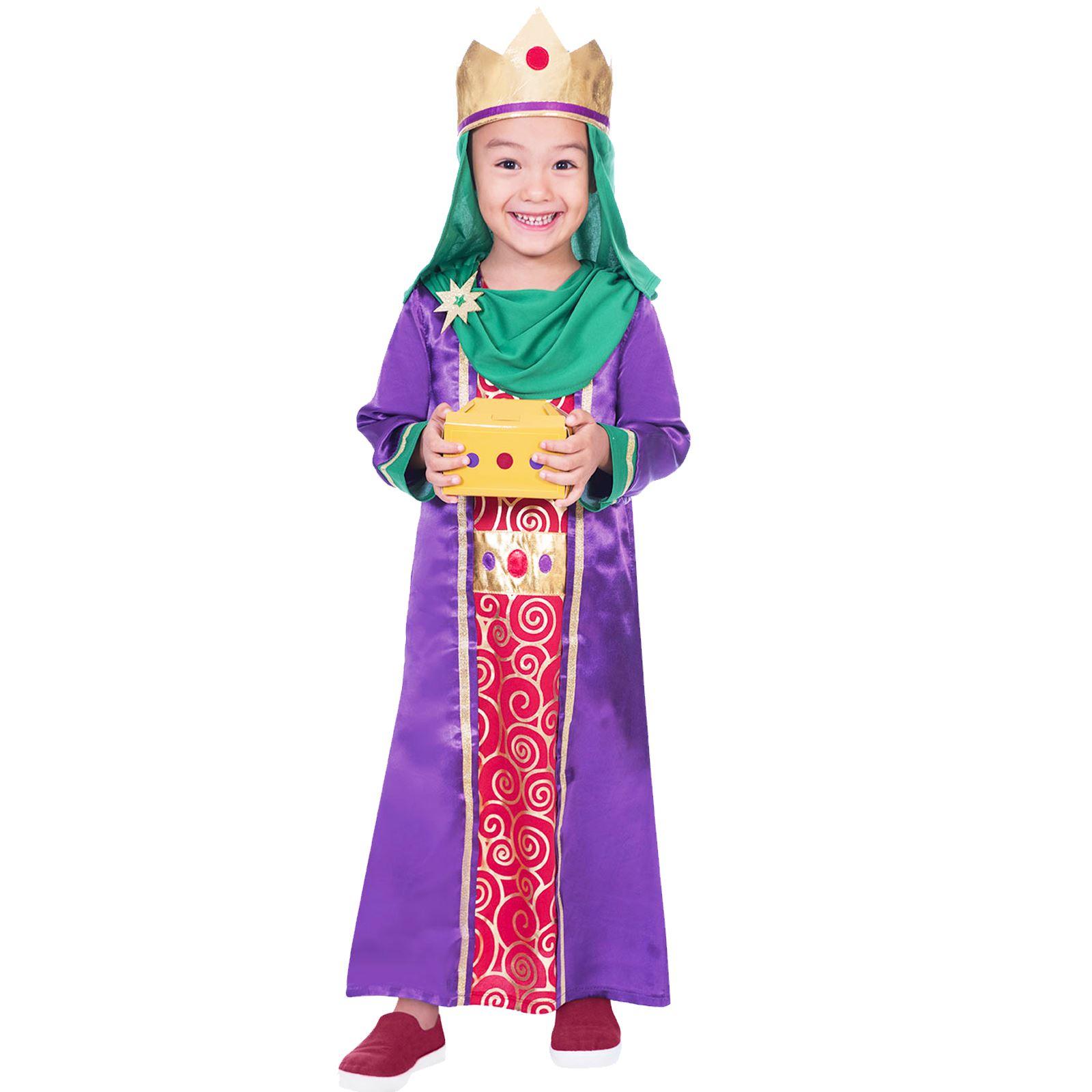 Bambini Natività Re MAGI RE MAGI Costume Natale Recita Scolastica