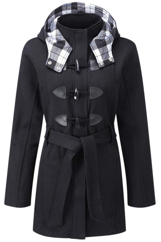Womens Ladies Parka Trench Long Fishtail Hooded Faux Fur Brave Soul Coat Jacket