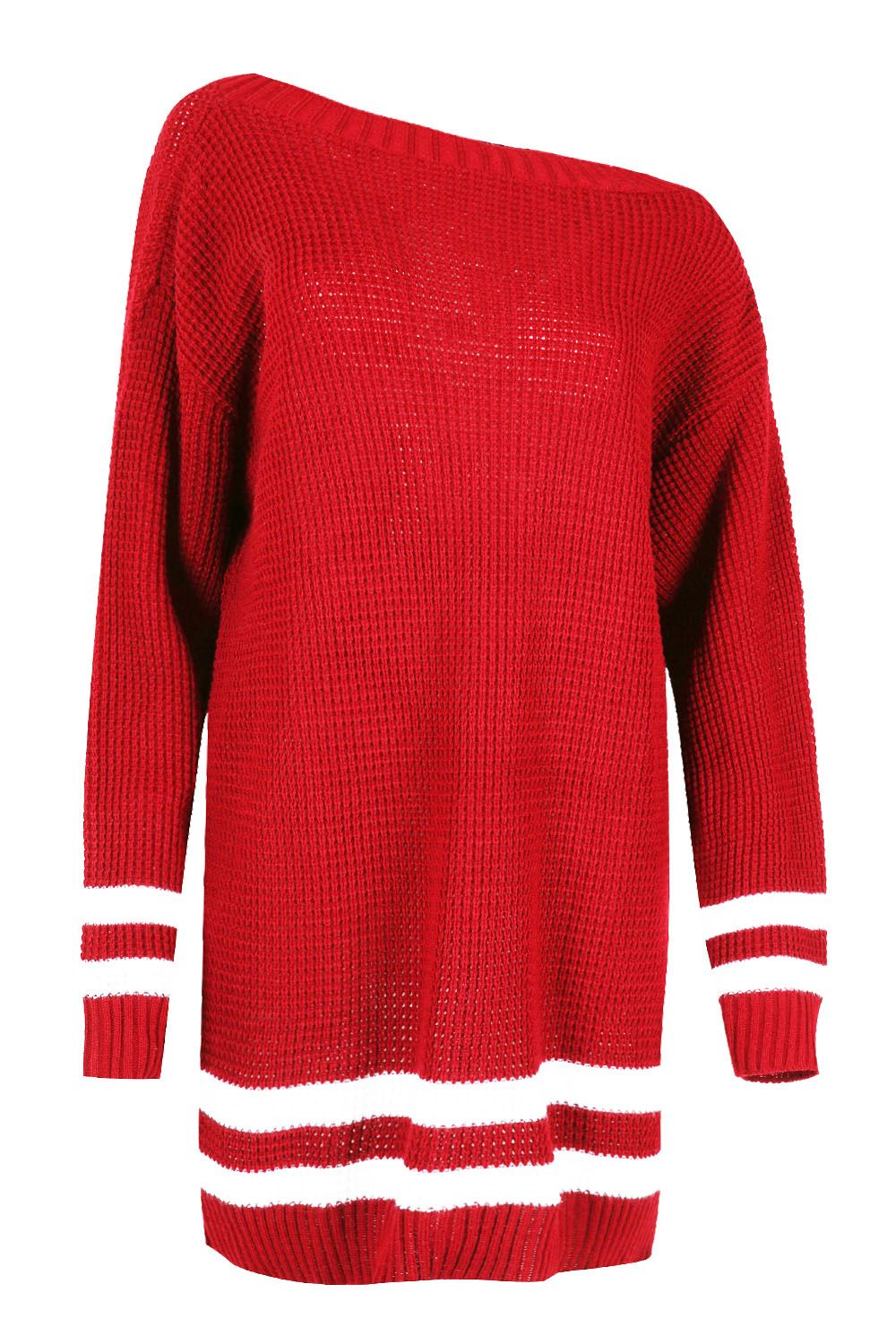 Womens Oversized Jumper Ladies Dress Long Sleeve Chunky Knitted Long Sweater Top