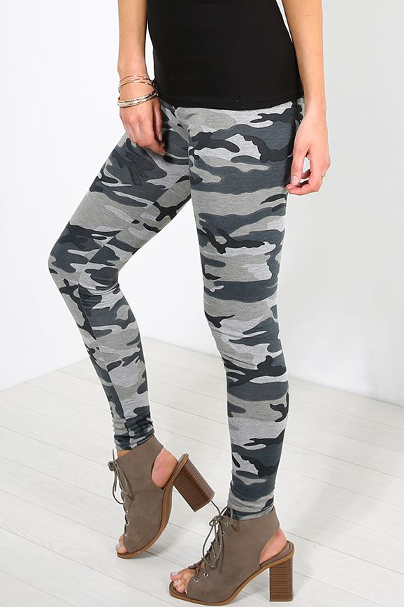Women Ladies Stretchy Full Ankle Length Skinny Floral All Over Printed Leggings