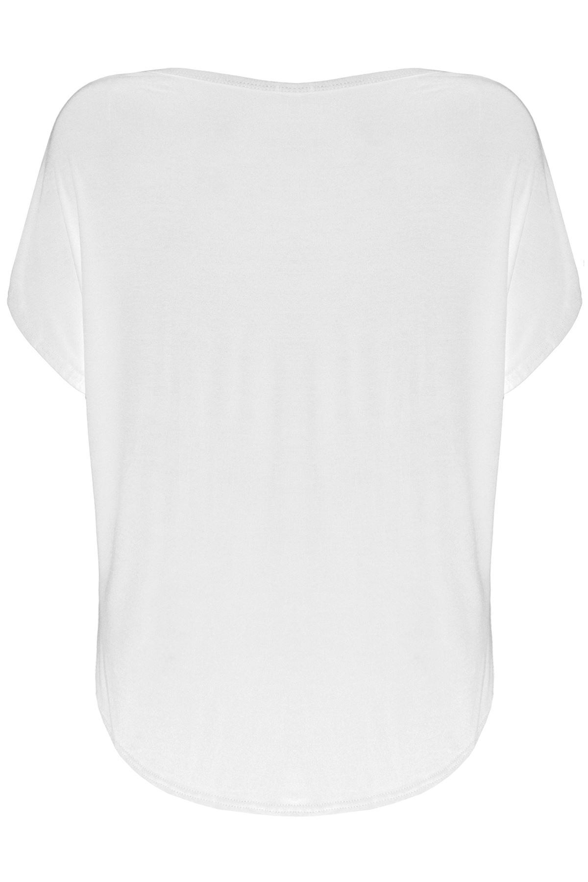 Plus Size Ladies Womens Sorry I am Late  Baggy Lagenlook Oversized T-Shirt Top