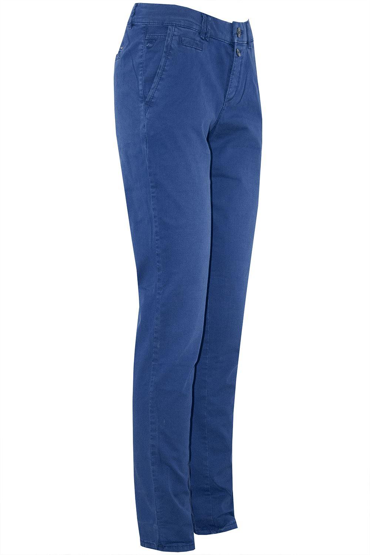 Femme femmes Skinny slim 2 boutons poches Crayon Longueur Cheville Denim Jeans Pantalon