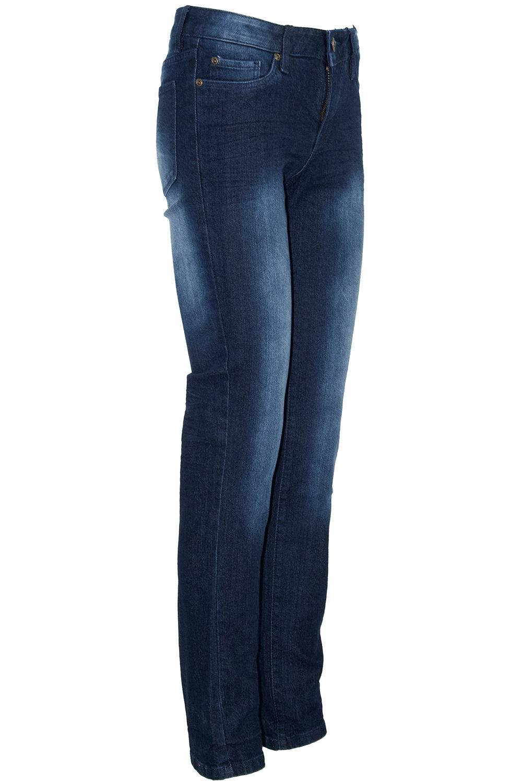 Ladies Womens Stretch Skinny Faded Slim Fit Stretchy Denim Pockets Jeans Trouser