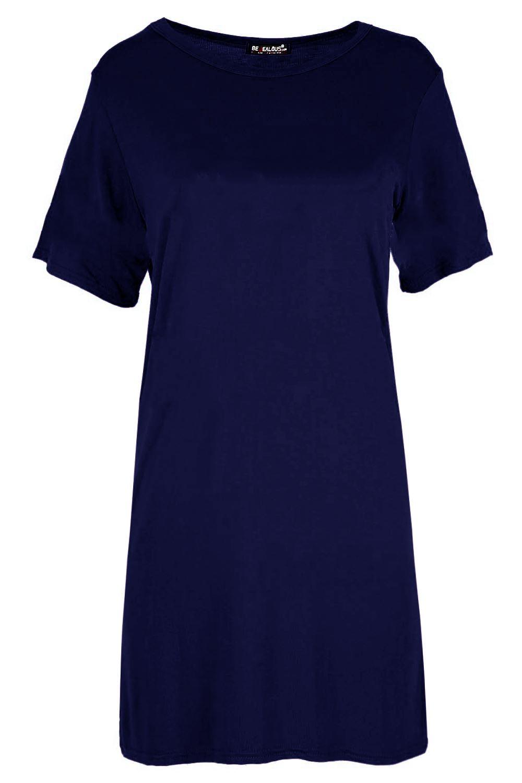 Womens Oversize Destroy Distressed Baggy Lazer Cut Rip Ladies T Shirt Mini Dress