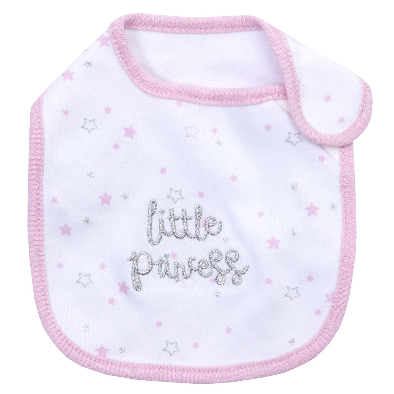 Babies Baby Girls Boys Sleepsuit Bib Hat Babygrow All in One Newborn Gift Set