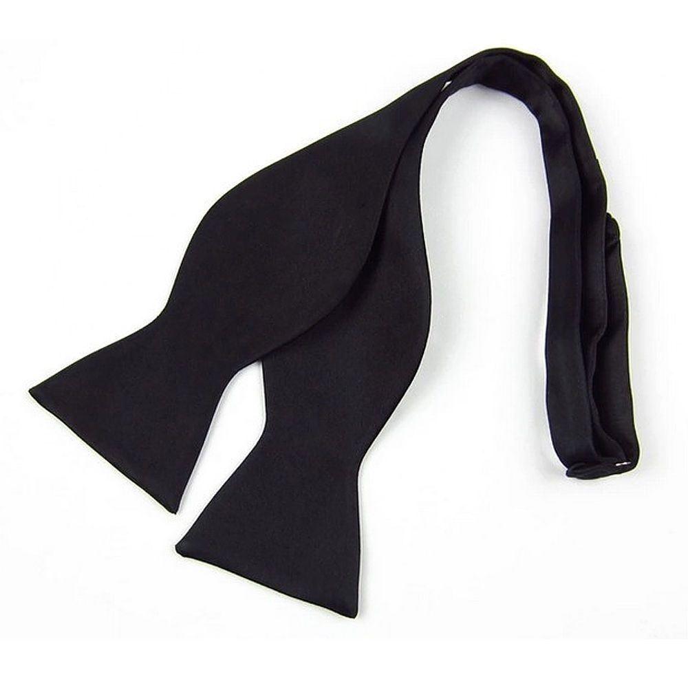 Mens//Boy 100/% Silk Black Tie Smart Work Wedding Funeral Classic Necktie Gift Him