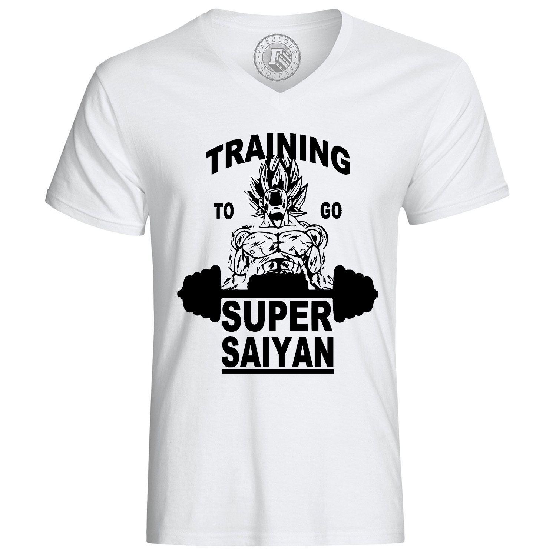 T-shirt training to go super sayan dragon ball z dbz