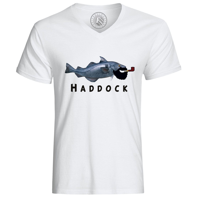 T-shirt Capitaine haddock  poisson tintin