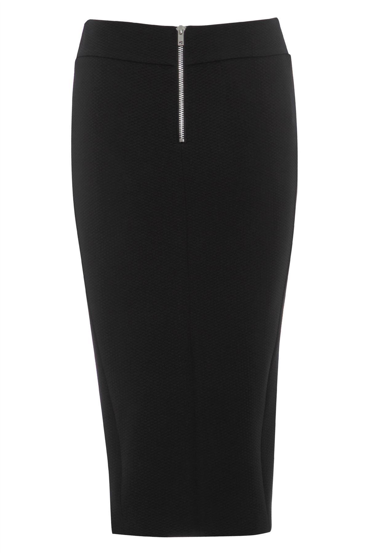 Love2dress Women/'s Evening Black Skirt with White Front Panel
