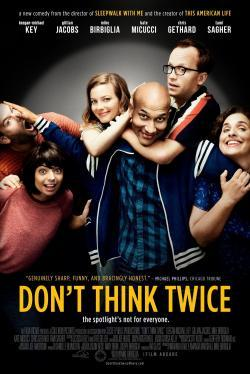 Don't Think Twice - Cartelera