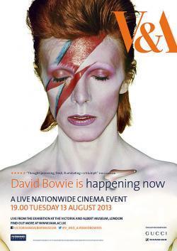 David Bowie Is Happening Now - Film in Teatri