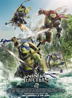 Ninja Turtles 2 - A l'affiche
