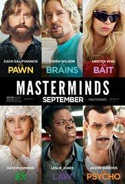 Masterminds(2016) - Cartelera