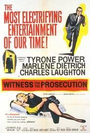 Witness for the Prosecution - crime