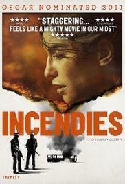 Incendies - war