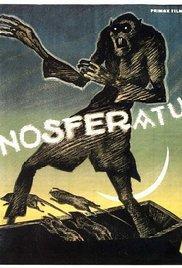 Nosferatu (1922) - horror