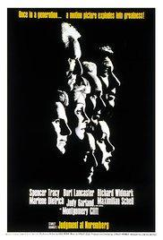 Judgment at Nuremberg - history