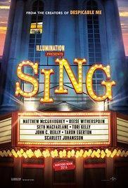 Sing (2016) - A l'affiche