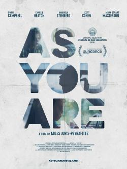 As You Are - Vision Filme
