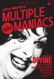 Multiple Maniacs (1970) - Cartelera