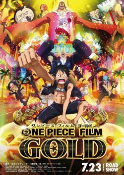 One Piece Película 13: Gold - Cartelera