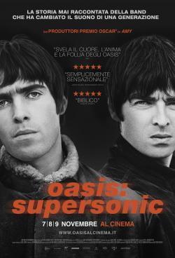 Oasis: Supersonic - Film in Teatri