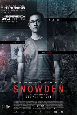 Snowden - Film in Teatri