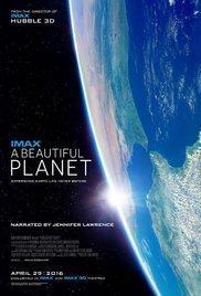 A Beautiful Planet(2016) - Cartelera