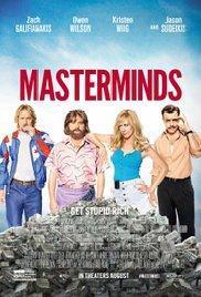 Masterminds(2016) - Film in Teatri