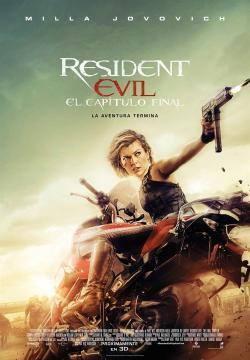 Resident Evil: El capítulo final - Cartelera