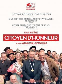 Citoyen d'honneur - A l'affiche