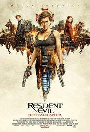 Resident Evil: The Final Chapter (2016) - A l'affiche