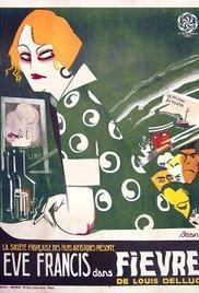 Fièvre(1921) - A l'affiche