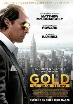 Gold, la gran estafa - Cartelera