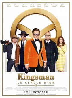Kingsman : Le Cercle d'or - A l'affiche