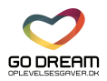 GO DREAM / Oplevelsesgaver A/S Logo