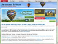 Aerosaurus Hot Air Balloons Logo