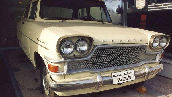 Ilk turk otomobili devrim 105001
